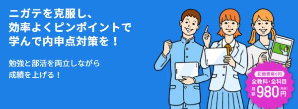 スタディサプリ中学生講座評判